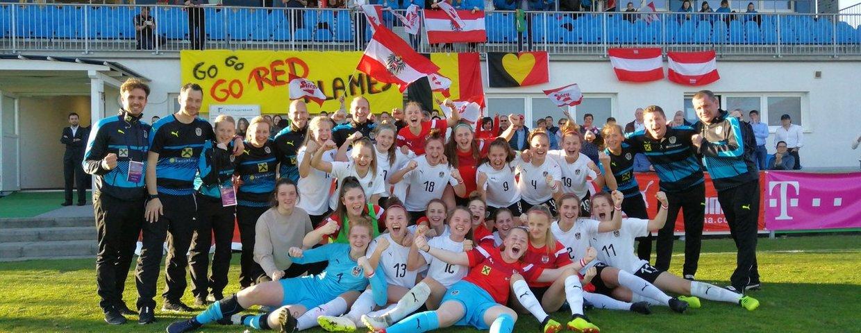 U17 Frauen Eliterunde: Österreich erkämpft sich EM-Ticket!